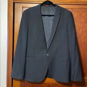 Hugo boss 44R black blazer
